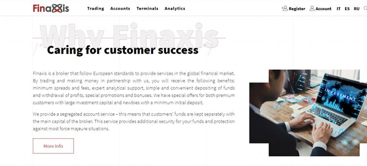 Finaxis è una truffa o è legale?