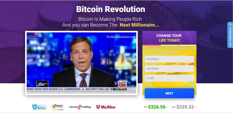 Recensione Bitcoin Revolution - Bitcoin Revolution è una truffa o è un software legale di trading?