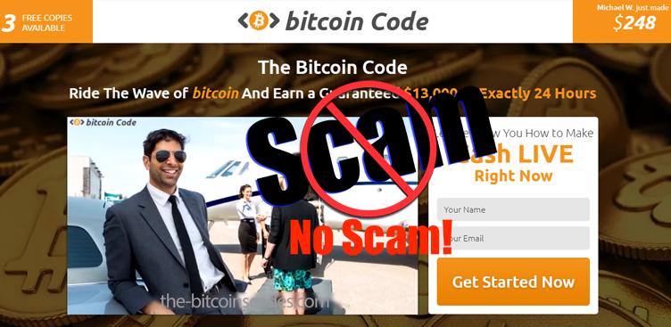 Bitcoin Code è una truffa?
