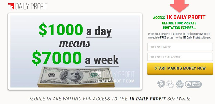 Perché fare trading con 1K Daily Profit?