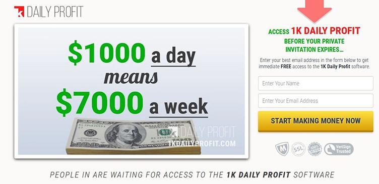 Come iniziare con 1K Daily Profit