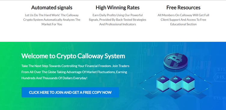 L'accesso a Calloway Crypto System
