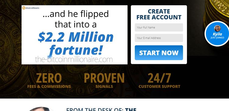 Uno sguardo a Bitcoin Millionaire: test del software dal vivo