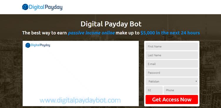 Digital Payday Bot – Reale o truffa? SVELATI I RISULTATI!