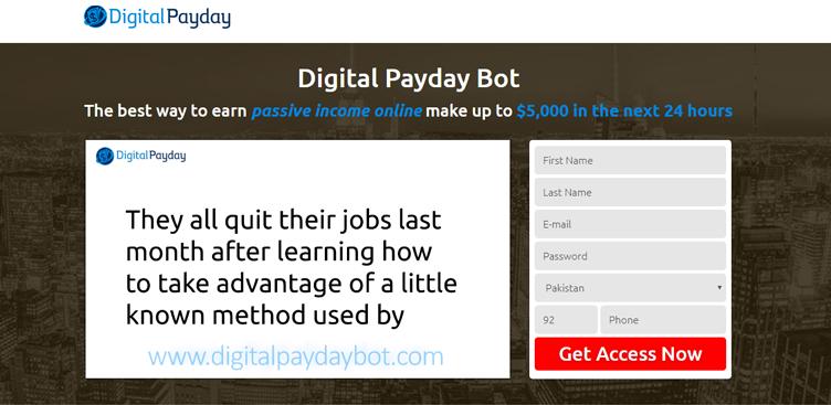 La recensione di Digital Payday Bot – Tutto ciò che devi sapere