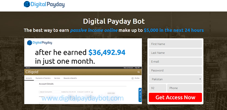 Come funziona Digital Payday Bot?