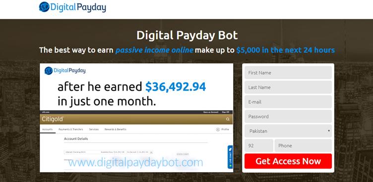 Come funziona Digital Payday Bot?