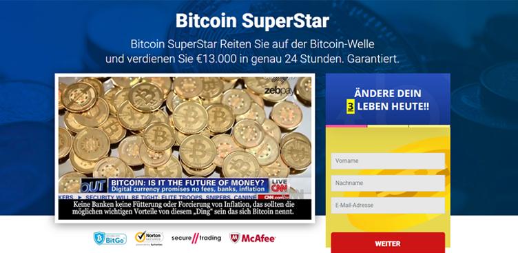 È possibile guadagnare soldi con Bitcoin SuperStar?