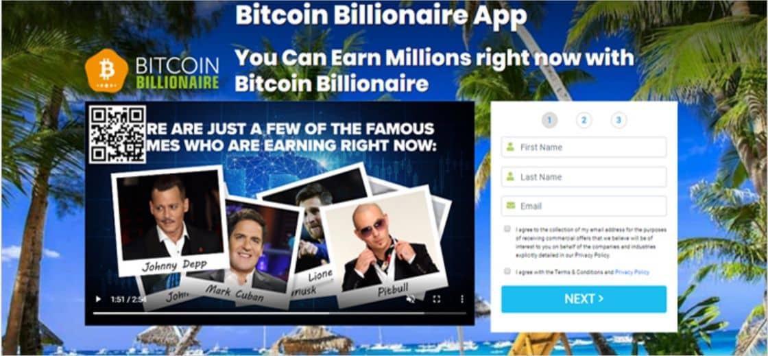 Bitcoin Billionaire - Truffa o legittimo