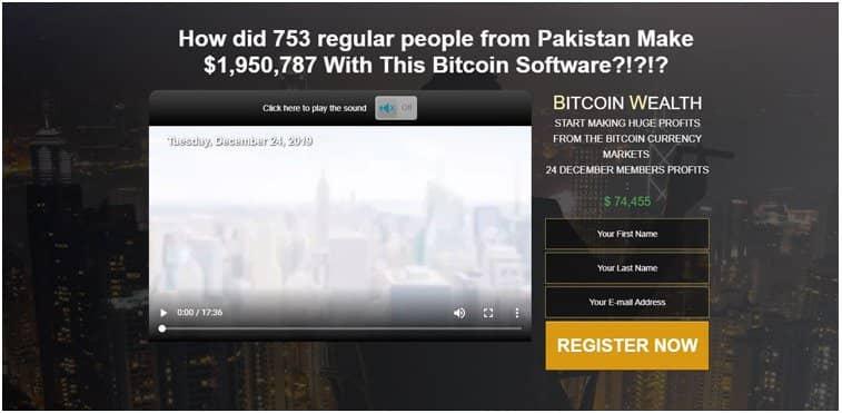 Bitcoin Wealth – Truffa o legittimo