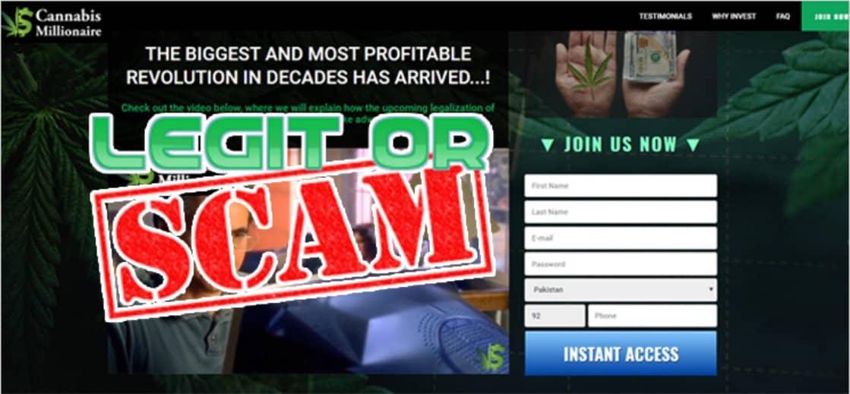 Cannabis Millionaire è Legittimo