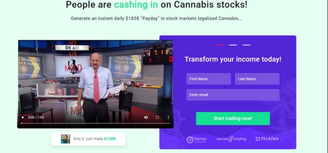 Cannabis Wealth - Truffa o legittimo