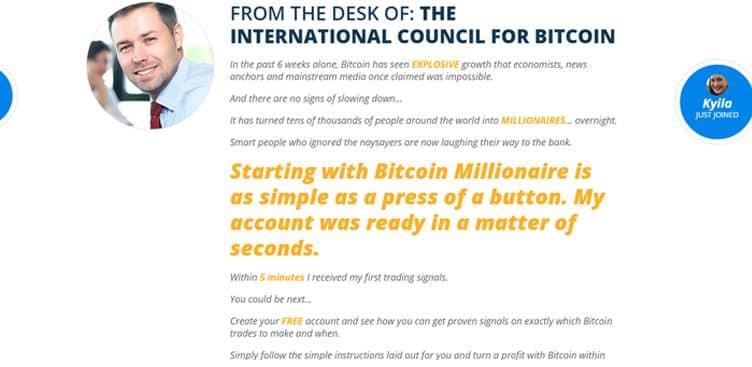 Come funziona Bitcoin Millionaire