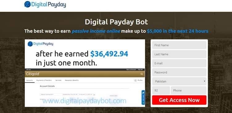 Come funziona Digital Payday