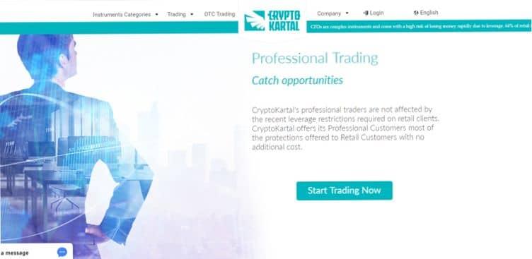 Condizioni di trading CryptoKartal