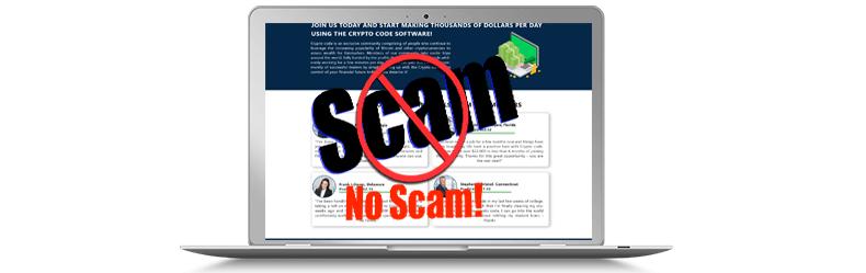 Crypto Code no scam
