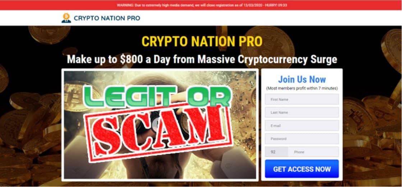 Crypto Nation Pro System