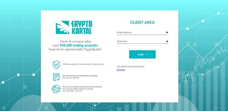 CryptoKartal - Account Types