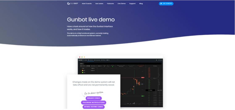 Gunbot Conto demo
