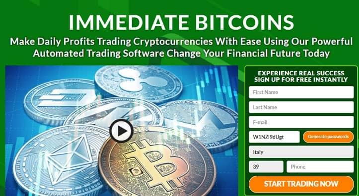 Immediate Bitcoins