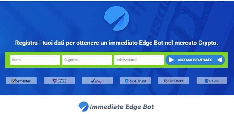 Immediate Edge – Come registrarsi