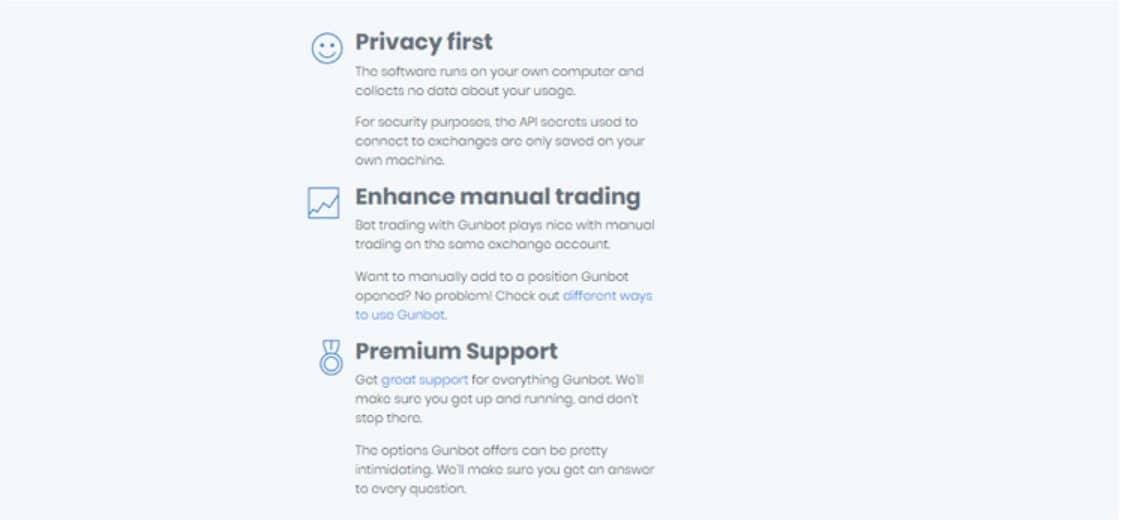 La piattaforma è sicura per i trader