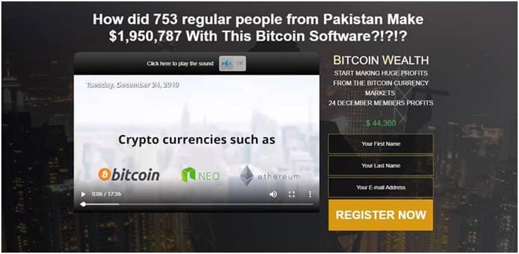 L'app Bitcoin Wealth