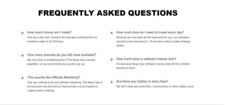 Le FAQ di News Spy