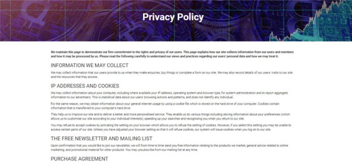 Le tue informazioni personali sono al sicuro