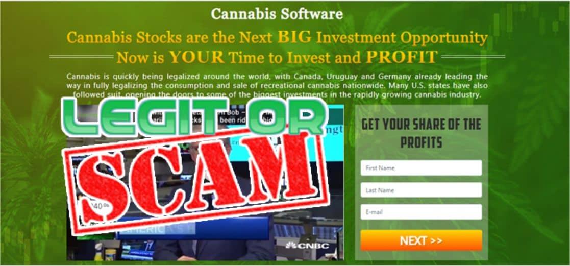 Legittimità del Cannabis Software