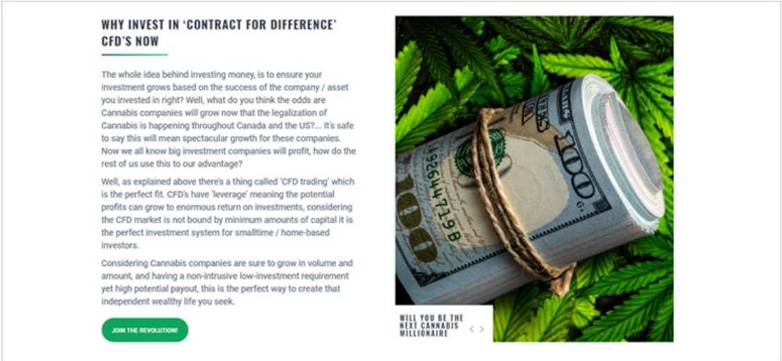 Perché Investire nella Marijuana