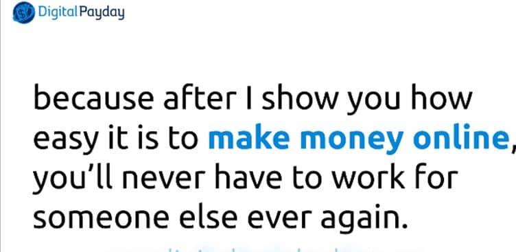 Perché guadagnerai soldi utilizzando Digital Payday