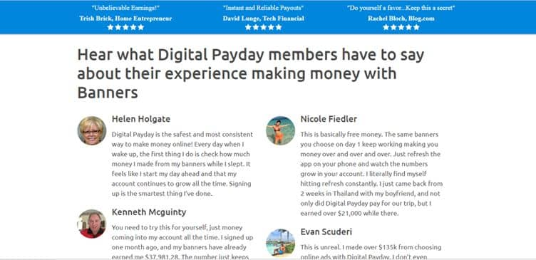 Perché utilizzare Digital Payday