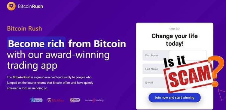 Recensione di Bitcoin Rush