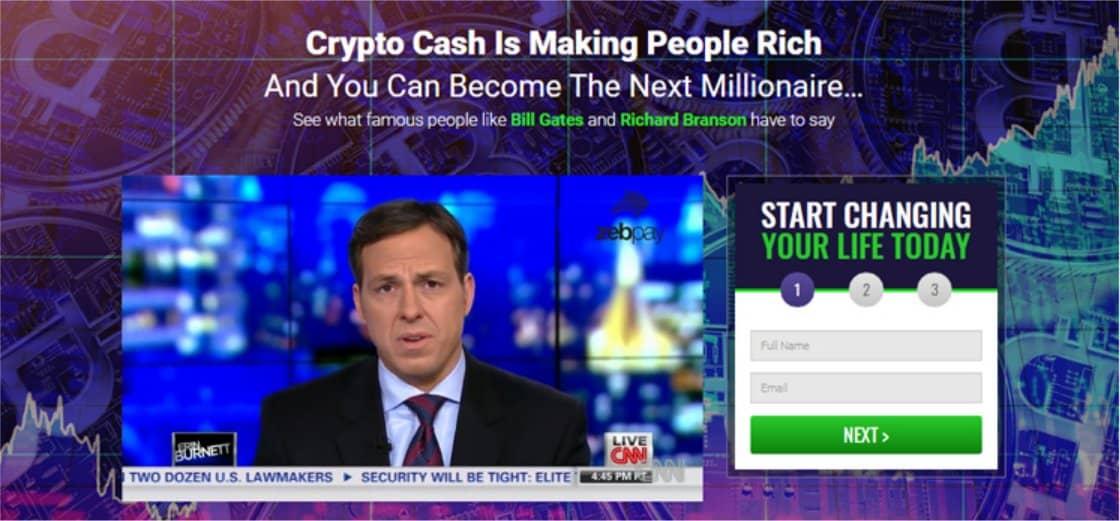 Recensione su Crypto Cash
