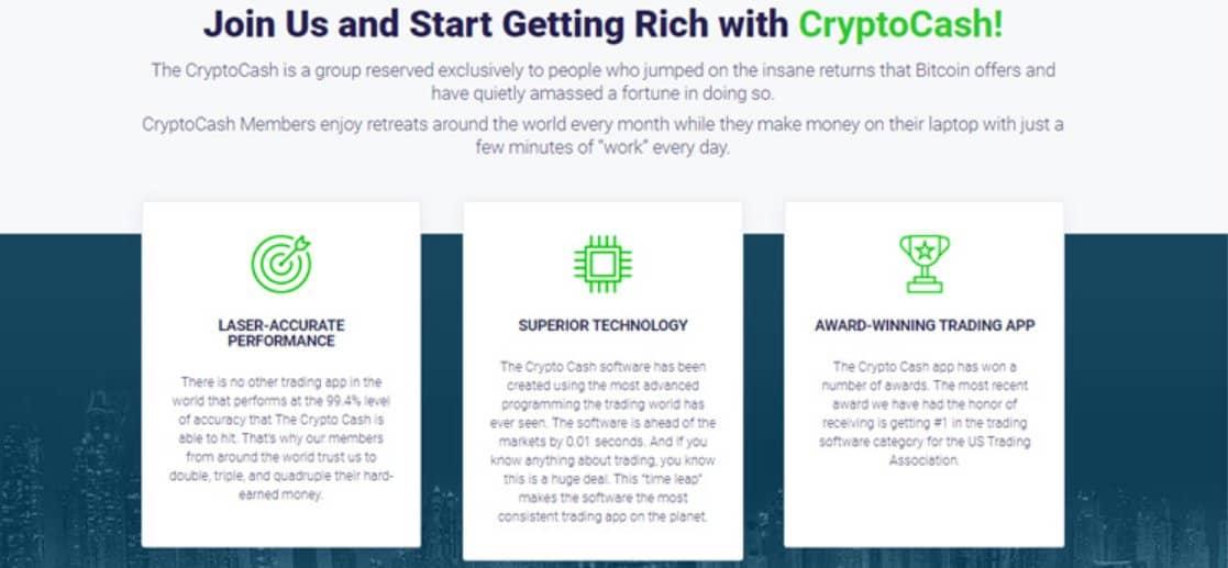 Vantaggi e funzionalità di Crypto Cash