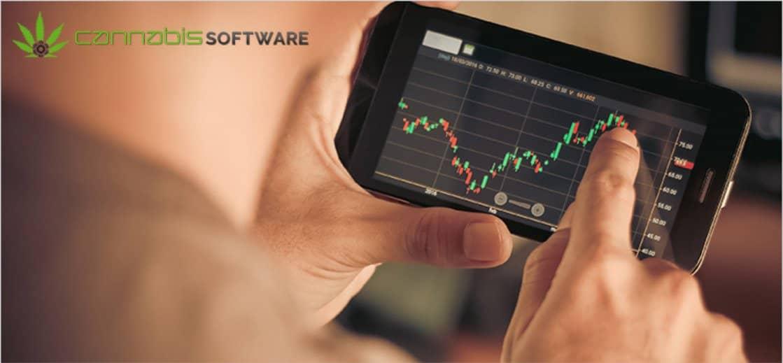 trading con l'app Cannabis Software