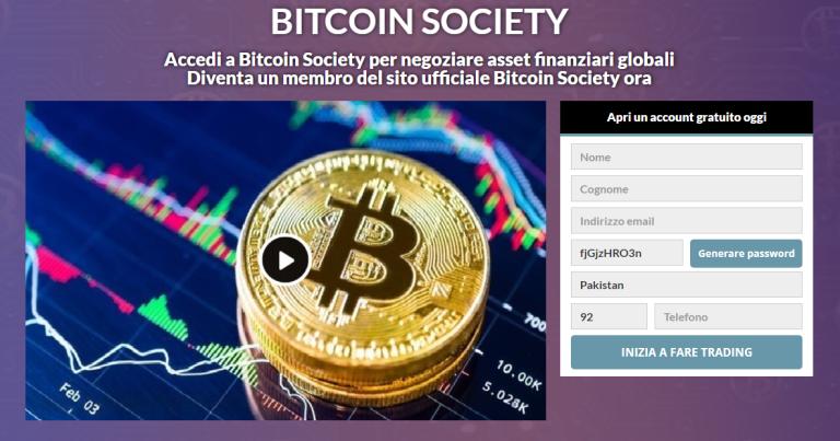 Bitcoin Society Review 2021: legittimo o truffa? Questa app funziona davvero?