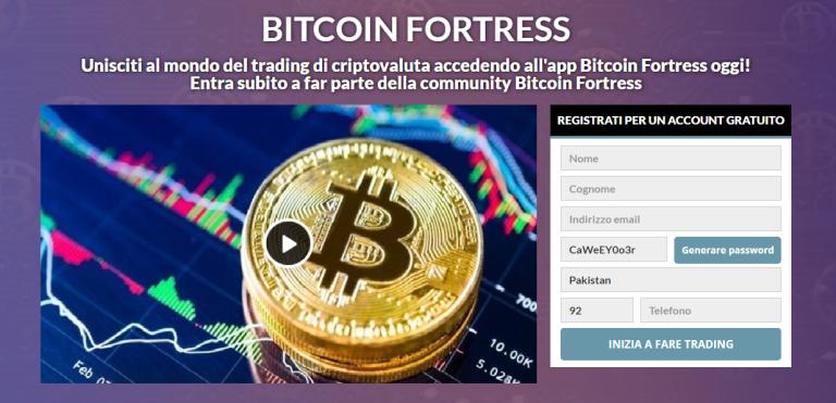 Bitcoin Fortress Review 2021: legittimo o truffa? Questa app funziona davvero?