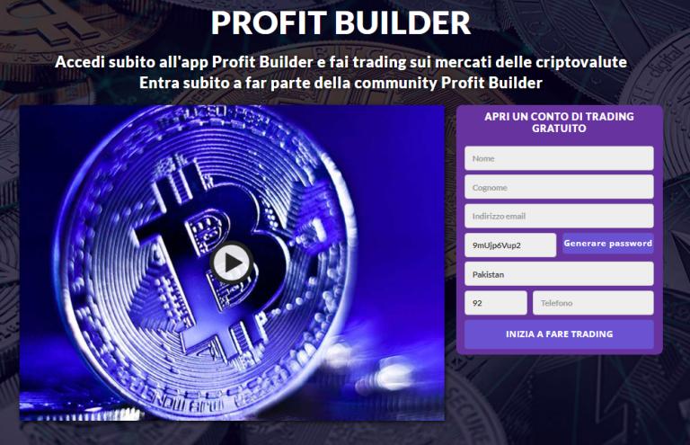 Profit Builder Review 2021: legittimo o truffa? Questa app funziona davvero?